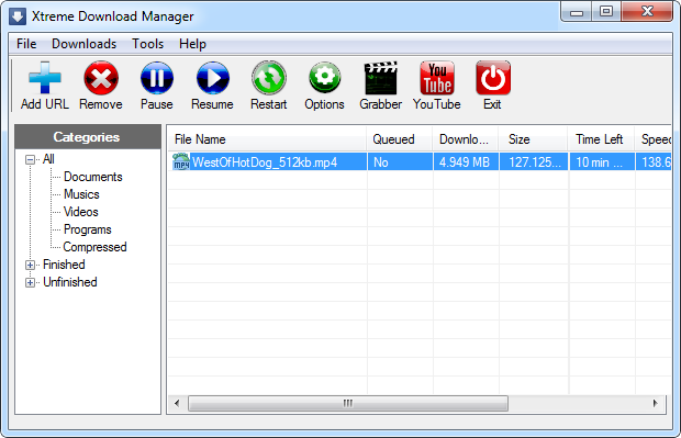 Xtreme Download Manager: Compact and Open Source - Instant Fundas