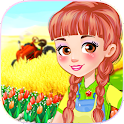 Gioco Garden girls games icon