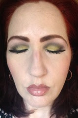 NARS Adult Swim Look1_eyes closed