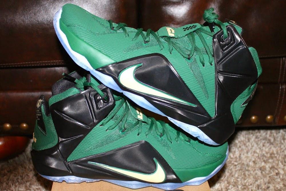 timeless design 0fb8b d9e28 First Look at Nike LeBron XII 12 8220SVSM Away8221 PE ...