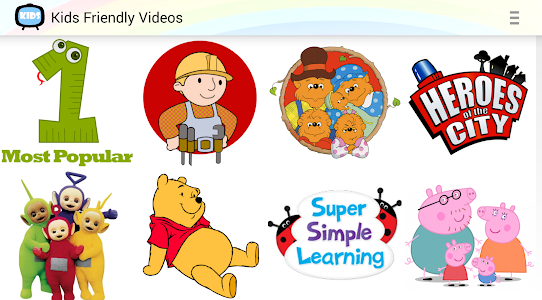 Kids Friendly Videos screenshot 4