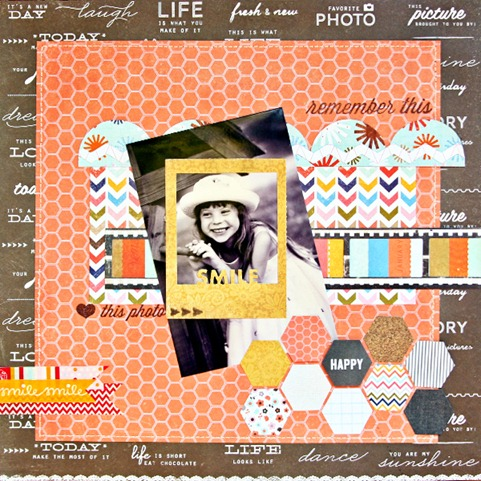 Papercrafters corner KI memories layout