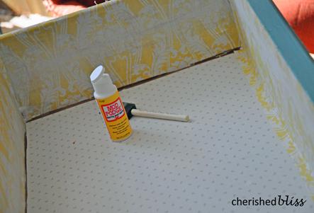 Decoupage fabric
