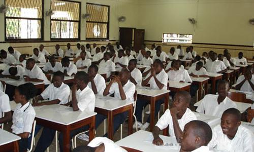 Elèves du Collège Boboto à Kinshasa, lors d'un séminaire sur la CPI. Photo icc-cpi.int