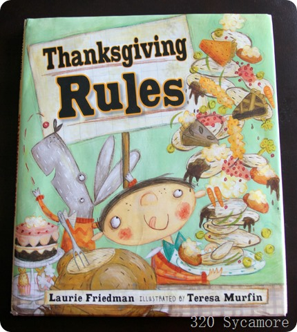 thanksgiving rules book