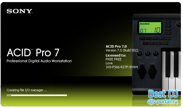 Sony ACID Pro v7.0e Build 713 Full