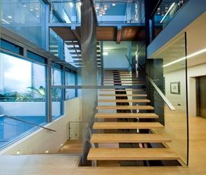 Diseño escaleras madera