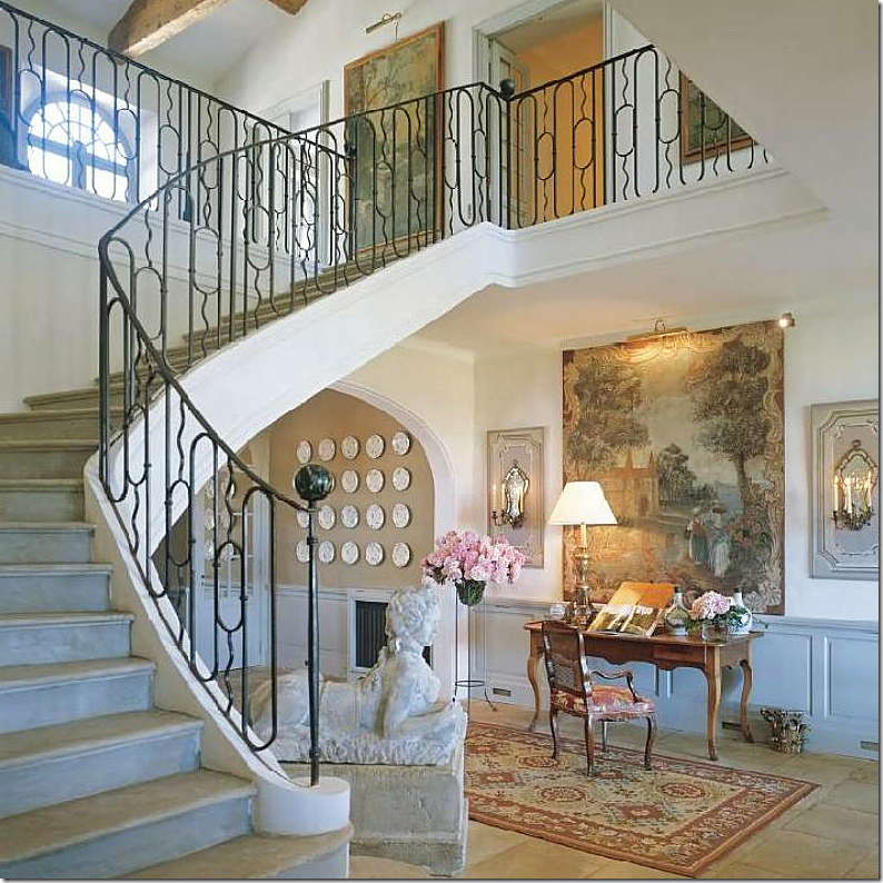 Beautiful Front Hall And Staircase: COTE DE TEXAS: NEWS ABOUT GINNY MAGHER