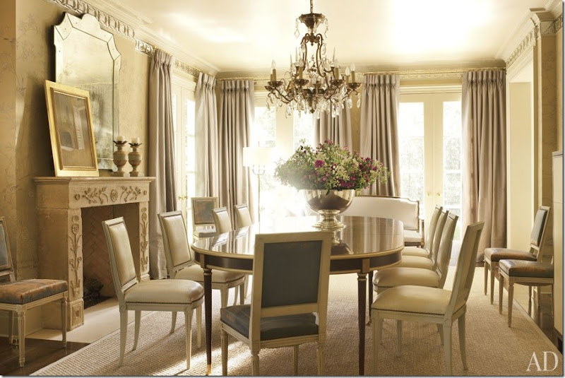 Item3 Rendition SlideshowWideHorizontal Suzanne Kasler Atlanta House 04 Dining Room
