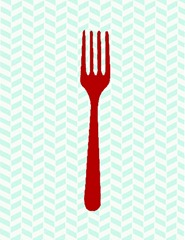 fork_utensil_red