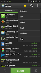 App Backup & Restore - screenshot thumbnail