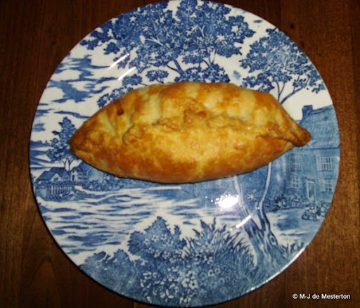 Cornish Pasty Made by M-J de Mesterton