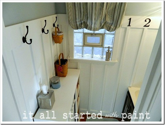 Powder Room Makeover After long shot