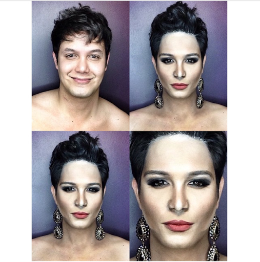PHOTOS: Dad Transforms Himself Into Celebrities Using Makeup And Wigs 18