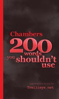 Screenshot of Chambers 200 Words–Don't Use