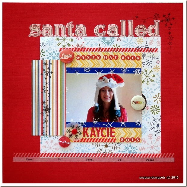 Santa Called by Snapsandsnippets