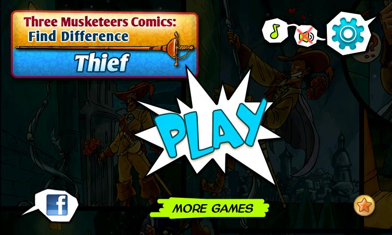 Musketeers:Thief Hidden Object - screenshot