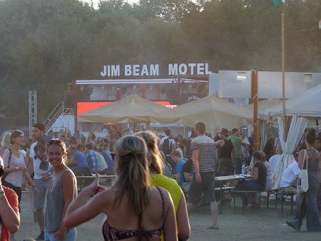 Sziget festival: Jim Beam Motel