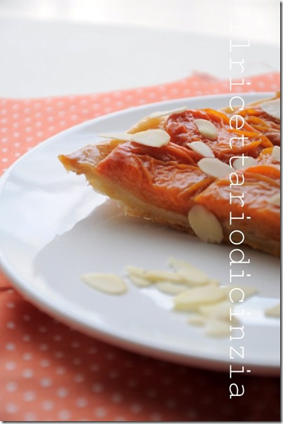 tarte tatin all'albicocca