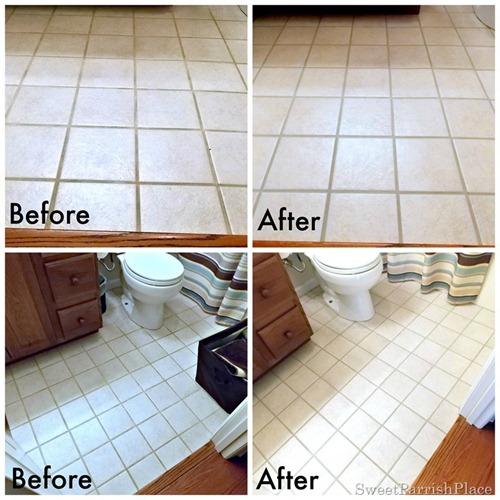 how to refresh grout