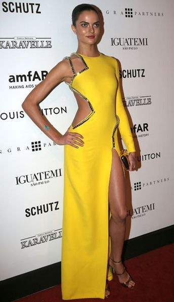 barbara-fialho-at the amfAR Inspiration Gala against AIDS