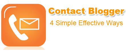 contact blogger team