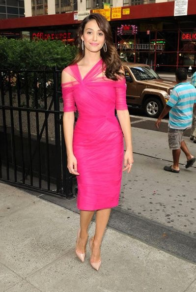 emmy-rossum-project-runway-taping-new-york-city
