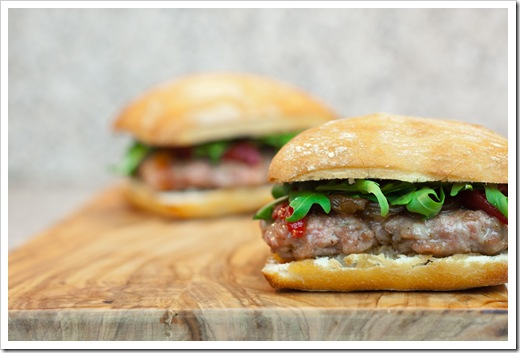hamburguesa iberica