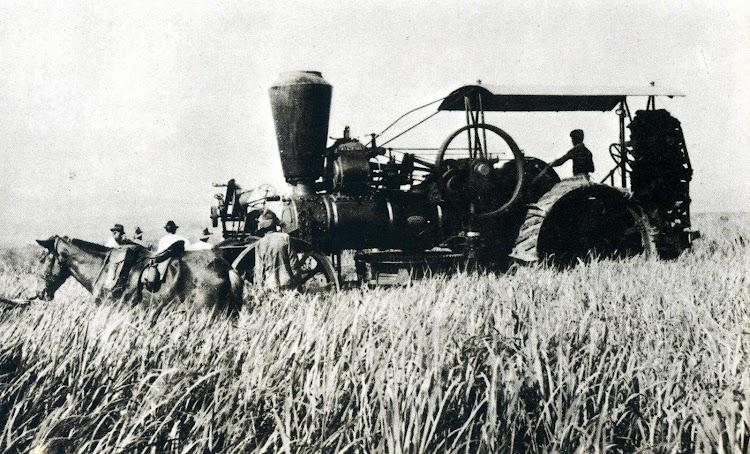 Hacienda Apolonia, en la Isla de Negros cultivo de la caña de azúcar con maquinaria moderna. 1.911. Del libro LA COMPAÑÍA GENERAL DE TABACOS DE FILIPINAS. 1881-1981..JPG