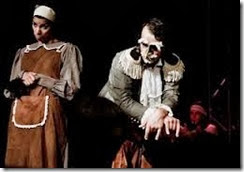 Caquilhos de Munchausen - cartaz da peça