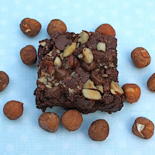 Hazelnut Cinnamon Brownies.