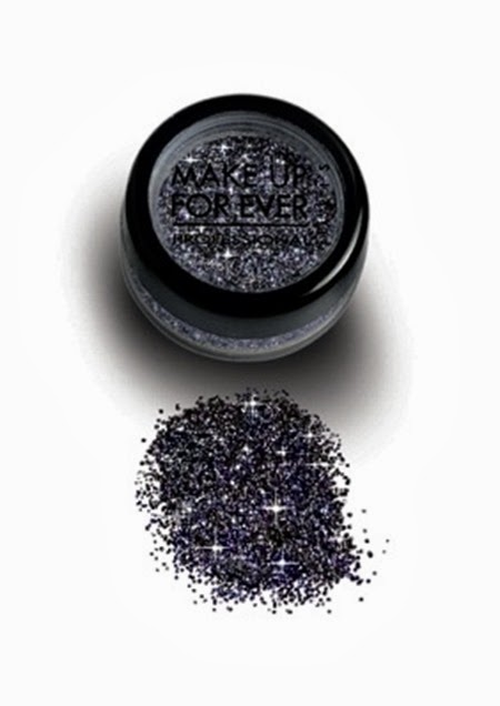 MAKE UP FOR EVER Midnight Glow Gun Metal Glitter