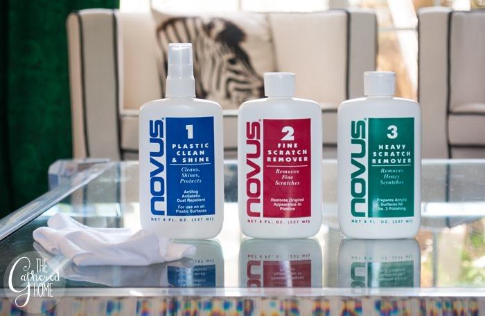 novus lucite cleaning kit