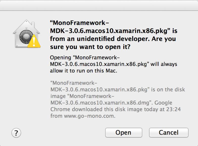 Dinis Cruz Blog: Installing Mono and MonoDevelop/Xamarin on OSx