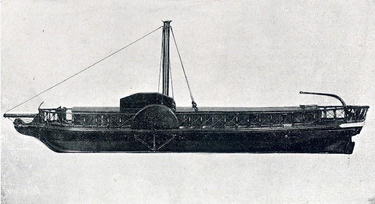 El REAL FERNANDO (a)BETIS. Primer buque mercante a vapor con ruedas construido en España. LIBRO DE INFORMACIÓN PARA EL PASAJERO, año de 1.923. Cia. Trasatlántica.JPG