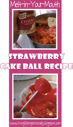 amazing strawbery cake ball recipe #recipes #dessert
