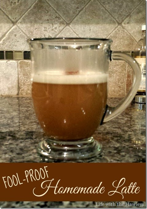 Fool Proof Homemade Latte