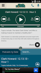 Clark Howard On Demand- screenshot thumbnail