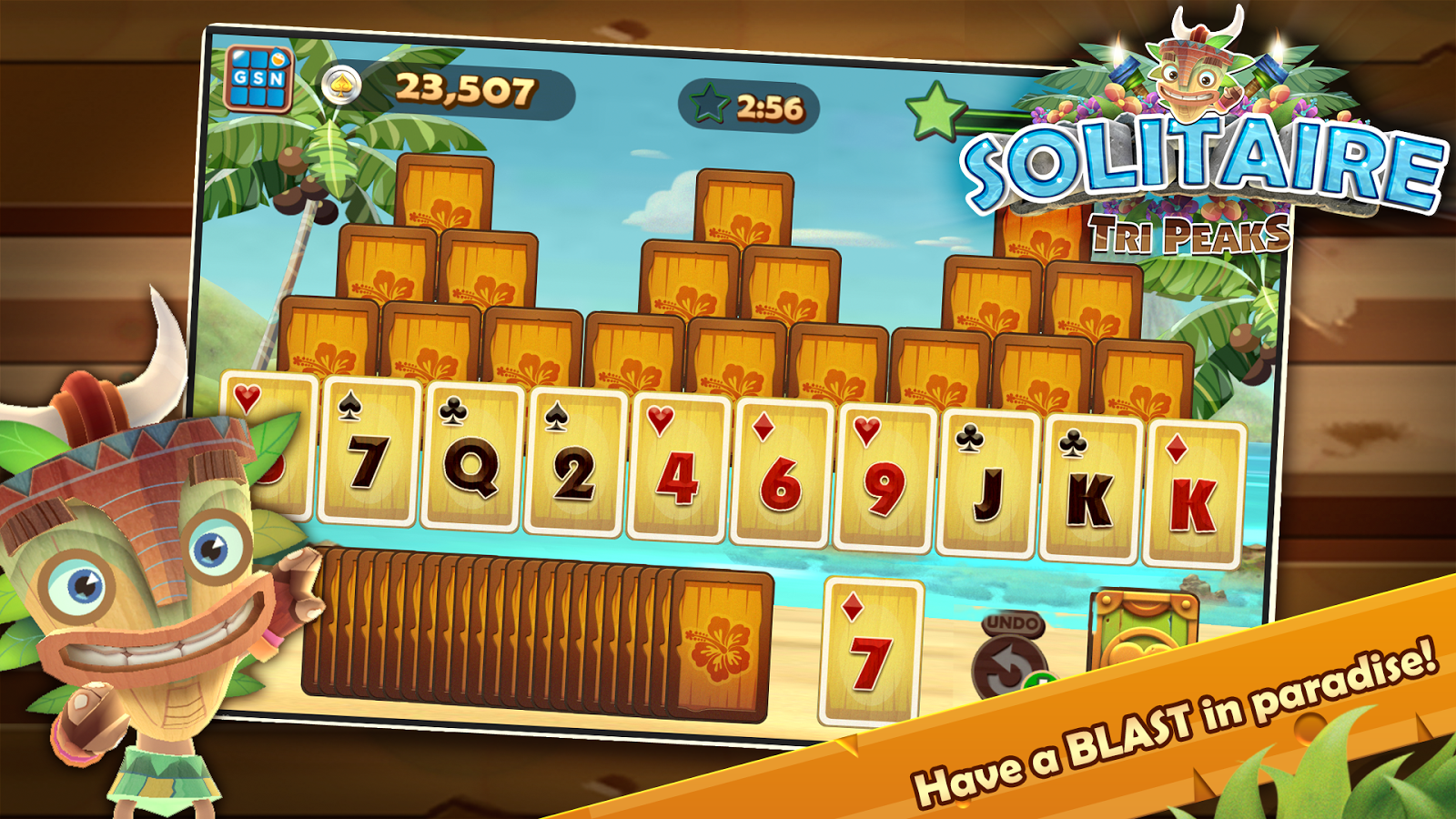 Solitaire Tripeaks Android Apps On Google Play