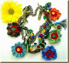 crochet flower one