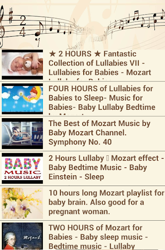 Baby Mozart Lullaby