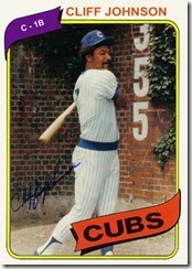 1980 Baseball Card Update 1980 Chicago Cubs 6th 64 98 27gb