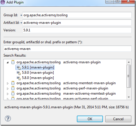 My Note on Solutions : How To: test Activemq using Maven plugins