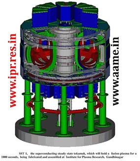 Steady-State-Superconducting-Tokamak-SST-1-India-Nuclear-Fusion-R