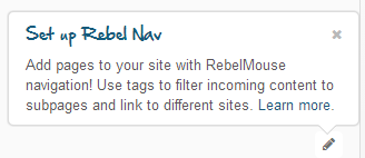 setup rebel navigation
