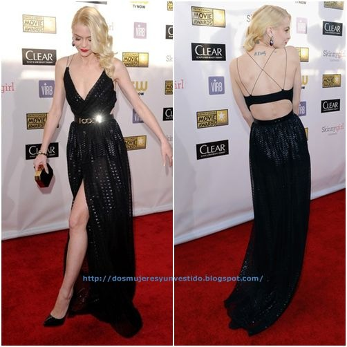 Jaime King 18th Annual Critics Choice Movie (3)