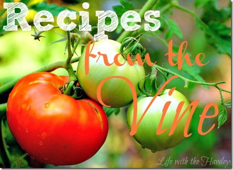 Recipes from the vine