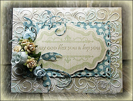 ODBD Antique Label Designs/Die, All Occasion Sentiments