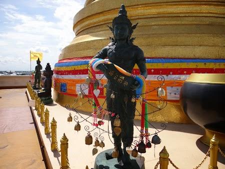 13. Templul Muntele de Aur - Bangkok. Thailanda.JPG