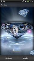 Screenshot of Diamond Live Wallpaper
